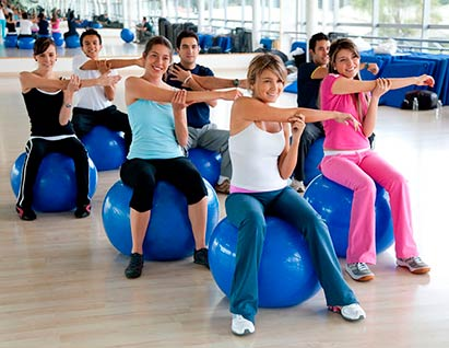 young adult fitness group classes